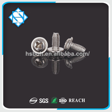 bolts Flat Head self tapping even tail stainless steel screw bolt nut DIN SGS ROSH JIS ISO SGS REACH
