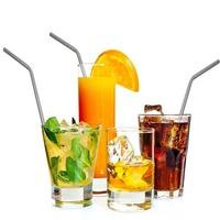 customizable package drinking straw printed