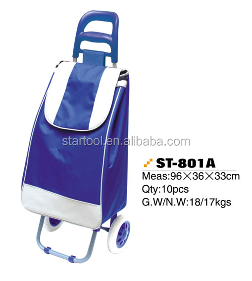 China manufacturer Hot sale shopping trolley bag supermarket