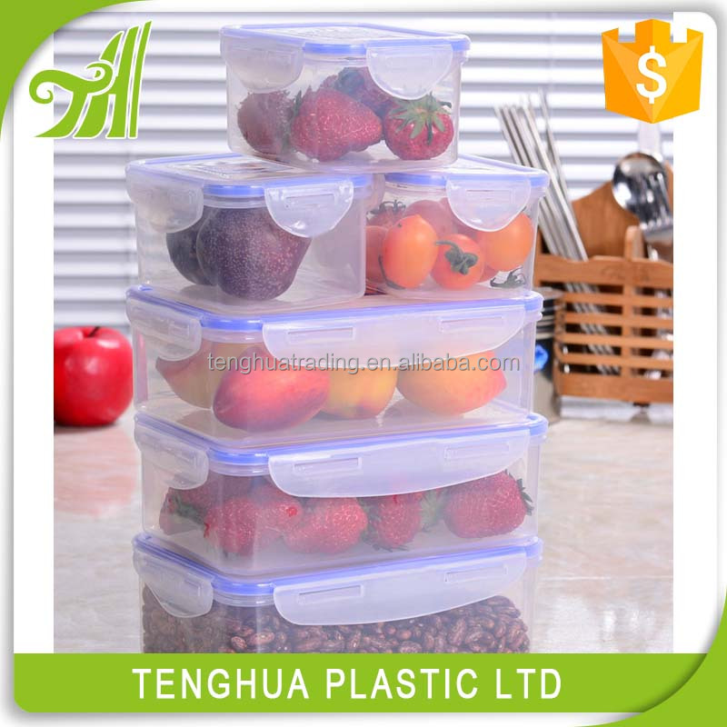 Food wholesale plastic snack storage plastic container