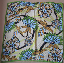 Top quality hot selling 100 % pure silk scarf