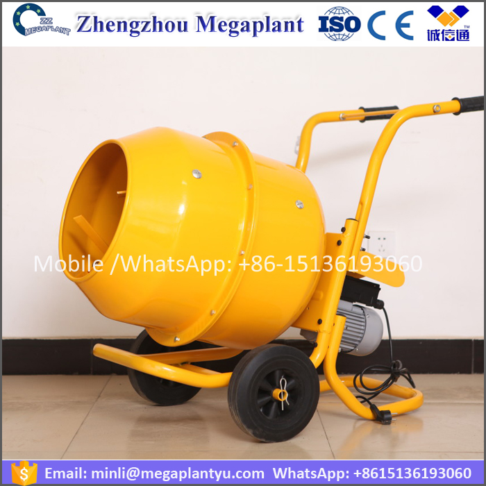 Electric Hand operation mini concrete mixer machine price / concrete mixer for sale