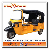 bajaj threel wheel Hight quality Tuk Tuk tricycle for hot sale