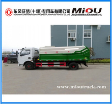 DONGFENG 4x2 small 6cbm compressed garbage truck 140hp hot sale for export