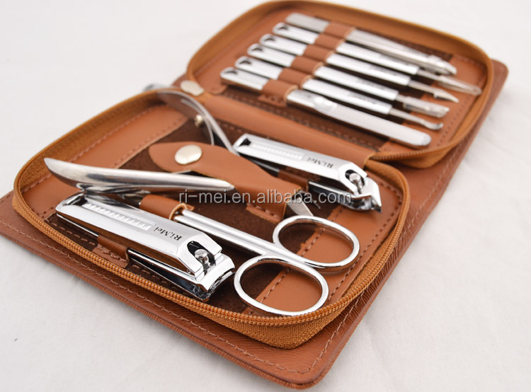 Rimei professional nail clipper gift sets manicure sets
