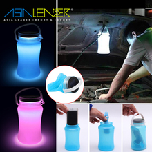 With Bottle Storage,Compass for Home, Outside,Travel Super Bright LED Waterproof Silicone Light Lamp Lantern