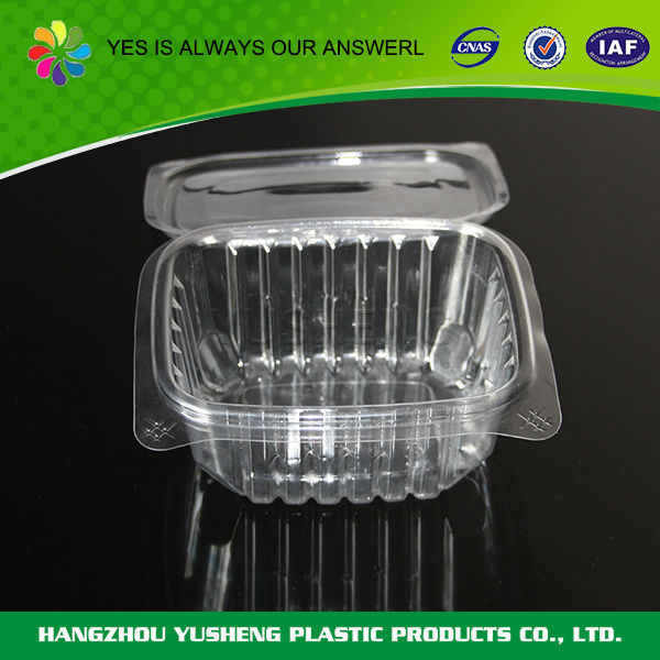 Custom high quality clear plastic cupcake container