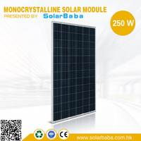 Cheap solar panel factory 100W 150W 200W 250W 300W monocrystalline silicon solar panel price