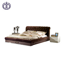 Luxury Italian design bedroom furniture modern style bed
