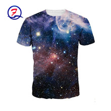 Mission men's vapor active alpha printed cotton couple tshirts for lovers starry sky t-shirt