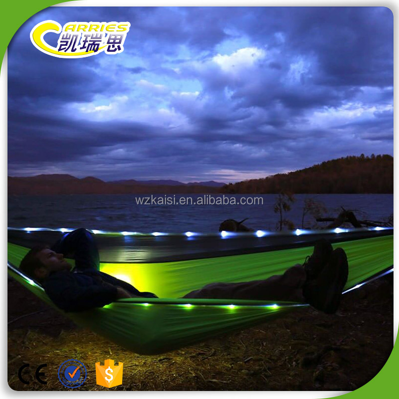 New Product ! ! ! Led Nylon Make Fabric Hammock