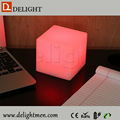 led outdoor light cube/ cube chair with table/ led siting stool for nighclub