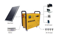 Easy to use 2013 hot sell portable solar system