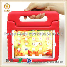 Charming handle grip lightweight case rotate for iPad