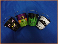 ALDI halloween tin bucket