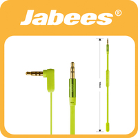 Wholesale Jabees newest cord wired 3.5mm music cable for car