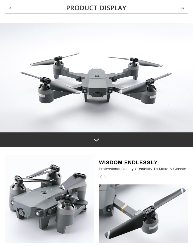 phone control professional rc foldable drone hd camera for wholesale
