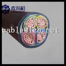 4 core copper conductor low voltage power cable