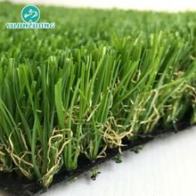 Artificial grass turf for landscaping carpet underlayment