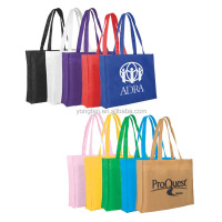 High Quality New Fashion Wholesale Reusable PP Folding Non Woven Shopping Bag