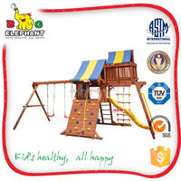 Creditable Flexible Kids Outdoor Playground Sets