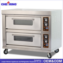 Factory price bakery equipment bread baking gas pizza oven