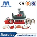 Microtec top quality 8 in 1 Combo Swing Transfer Heat Press Machine