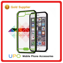 [UPO] High Quality Acylic Clear Slim PC TPU Mobile Phone Case for iPhone 5 se 6 6s