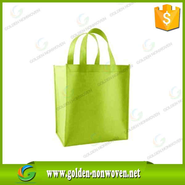 spunbond nonwoven shopping bag 100% manufacturer/pp non woven tote bag/free sample polypropylene non-woven handled bags
