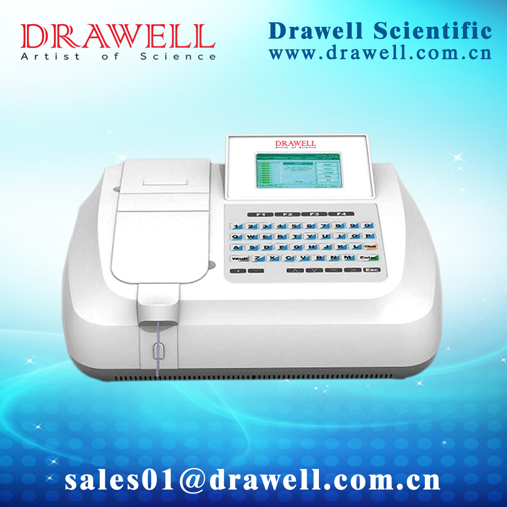 Semi-auto Biochemistry Analyzer (Drawell Silver-Plus)