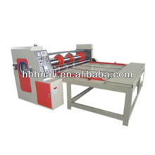 Semi-auto Four-knife Creasing&Cutting Corrugated Carton Machine ,machine to make cardboard boxes