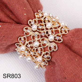 Alloy Scarf Ring