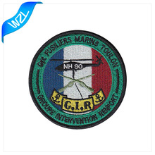 Wholesale Cheap helicopter embroidery patches for clothing
