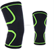 Hot selling Breathable elastic nylon knee sleeve support for sports safety