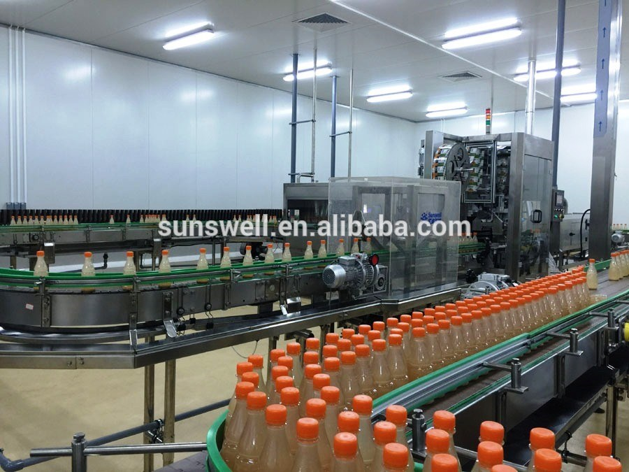 Fruit Juice Aseptic Filling Equipment / Hot Drink Line