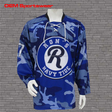 2016 Sportswear dye sublimated custom hockey jersey