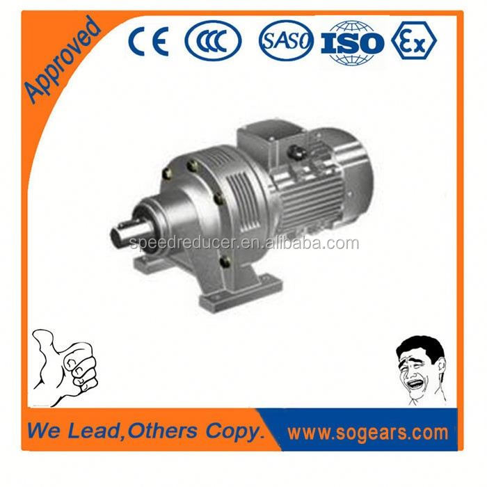 China manufacture XLD BWD electromotor gear reducer