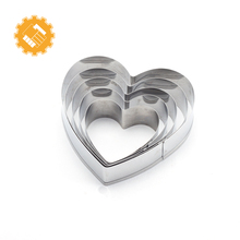 Bulk Plastic multi size biscuit cookie cutters set