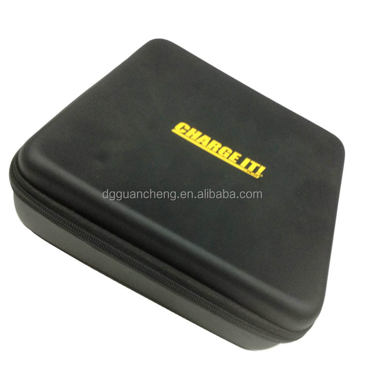 GC-Anti-shockBlack color hard cover shell bank power Eva box