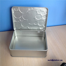 Recyclable Feature customized factory mint use hinged lid box