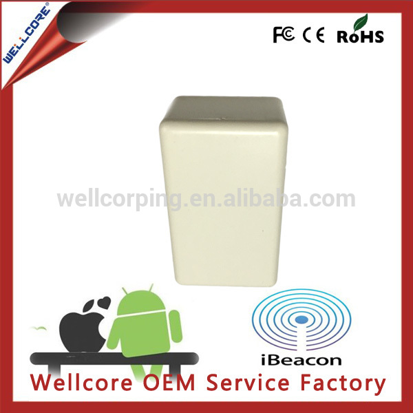 wholesale long life ibeacon,cc2541 chipset beacon bluetooth 4.0 low energy module beacons with 2pcs CR2477 batteries