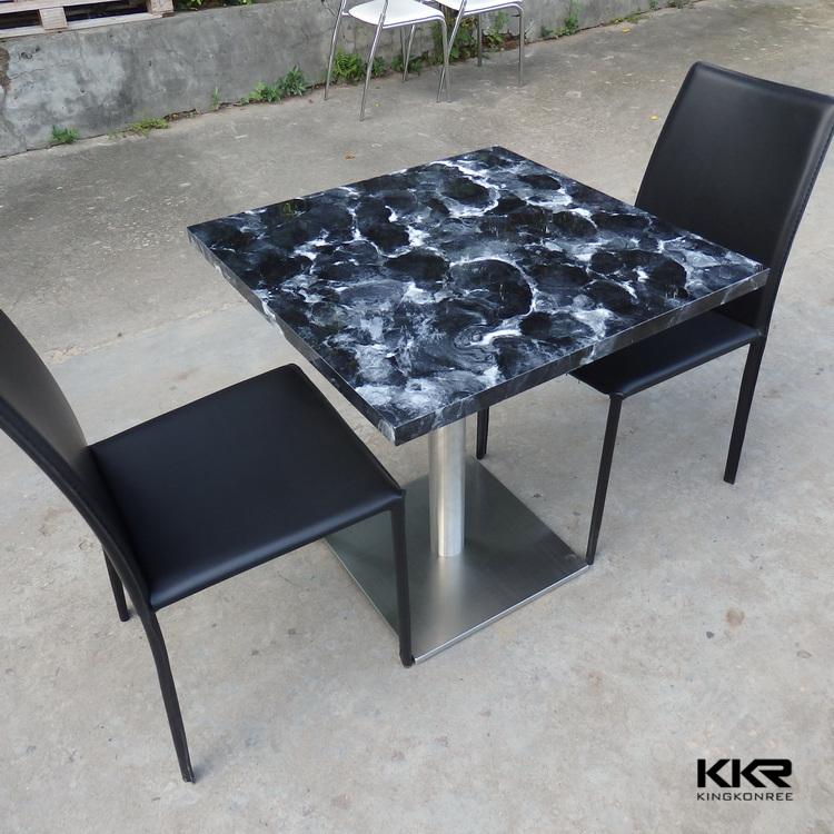 Luxury Heat Resistant Kitchen Table Cheap Restaurant