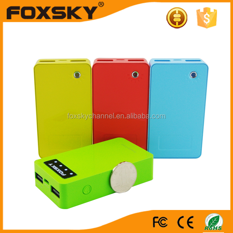 High capacity Portable mini charger 5200mah power bank for laptop