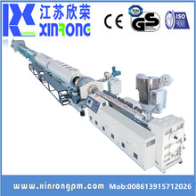 Water and gas supply hdpe plastic pipe making machine