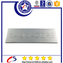 Good quality cheap custom silver plated thin metal plate 2015
