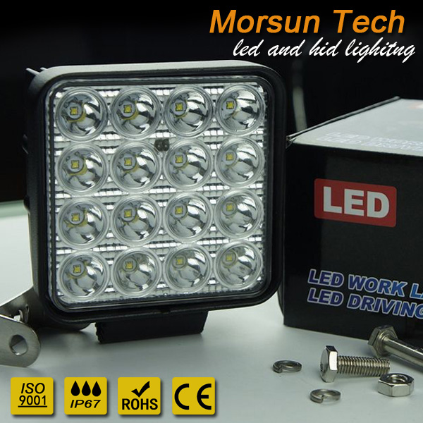 super bright led work light 48w high quality led working lamp ECE EMC