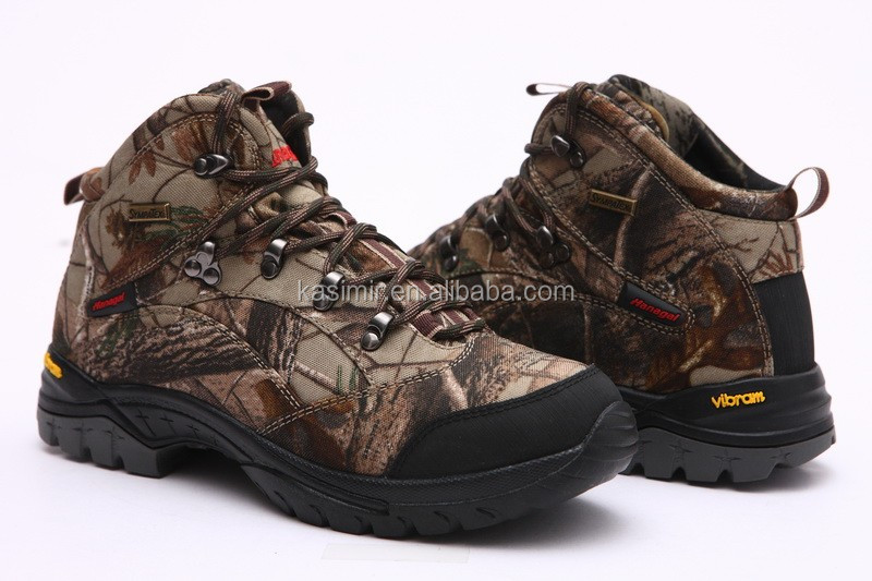 Stock!New design waterproof hunter boots cheap price camo boots hunting for men