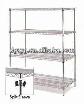 Chrome plated ESD wire Shelf Stainless steel ESD Shelf