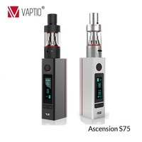 shenzhen wholesale electronic accessories products Vaptio 75W ATC quit smoking devices e cig set