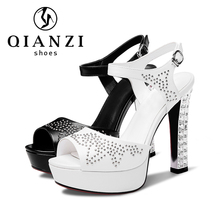 7457 most beautiful sandals black and white women summer shoes sandals footwear